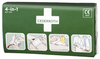 Blodstopper Cederroth 4-in-1 1910